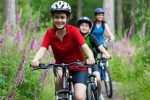 jewish family biking